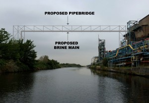 KGSP - Artist's impression of proposed pipeline extension at Runcorn